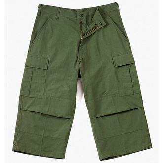 3/4 pantaloni bărbați Rothco - CAPRI - OLIVE buleandră, ROTHCO