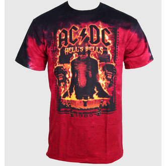tricou stil metal bărbați femei unisex AC-DC - Bells - LIQUID BLUE, LIQUID BLUE, AC-DC