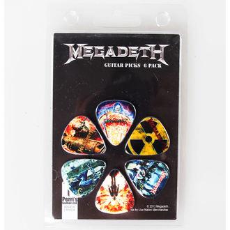 Pene chitară Megadeth - PERRIS LEATHERS, PERRIS LEATHERS, Megadeth