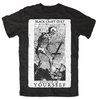 tricou bărbați femei unisex - Believe In Yourself - BLACK CRAFT - MT070BT
