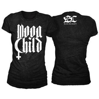 tricou femei unisex - Moon Child - BLACK CRAFT - WT012MD