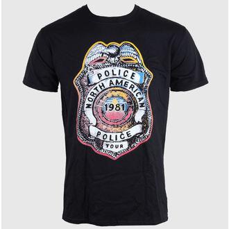 tricou stil metal bărbați femei unisex Police - SHIELD - LIVE NATION, LIVE NATION, Police