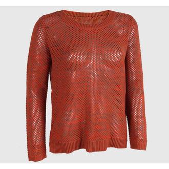 pulover femei VANS - Maynard - Portocale / cafea mocca, VANS