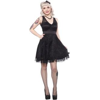 rochie femei sourpuss - Rupere Sus The Oraș - Negru, SOURPUSS