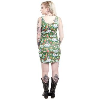 rochie femei sourpuss - Remorcă Parte - Multi colorate, SOURPUSS