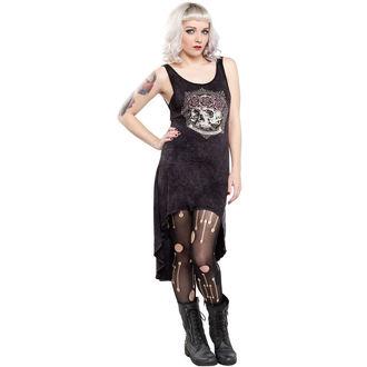 rochie femei sourpuss - Bună Scăzut Omni - Negru, SOURPUSS