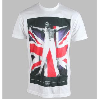 tricou stil metal bărbați femei unisex Queen - Flag - BRAVADO - 33301004