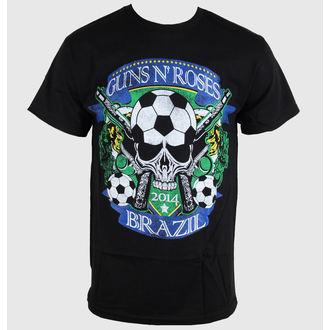 tricou stil metal bărbați femei unisex Guns N' Roses - Brazil Cup - BRAVADO - GNR1531