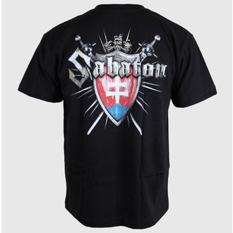 tricou stil metal bărbați femei unisex Sabaton - Swedisch - CARTON, CARTON, Sabaton