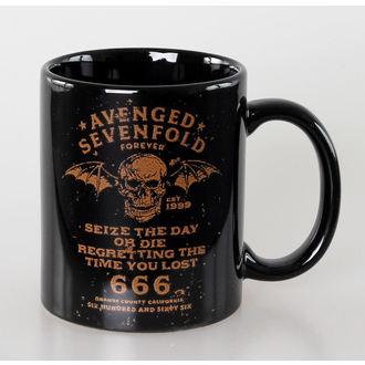 Cană Avenged Sevenfold - The Day - Black - ROCK OFF, ROCK OFF, Avenged Sevenfold