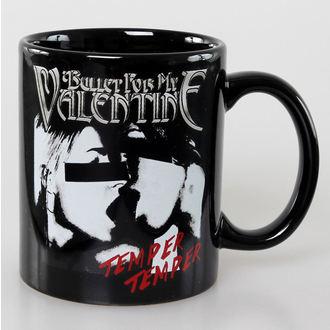 ceașcă Bullet For my Valentine - Craniu roșu Ochi Negru - ROCK OFF, ROCK OFF, Bullet For my Valentine