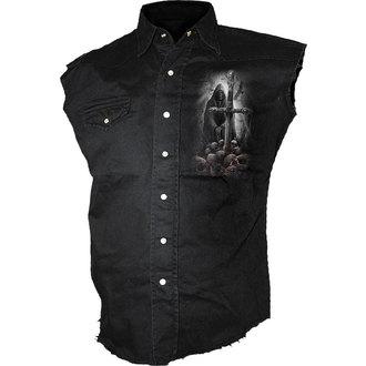 cămaşă bărbați fără mâneci SPIRALĂ - SUFLET căutător, SPIRAL