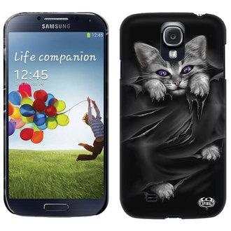 acoperi la celulă telefon SPIRALĂ - LUMINOS OCHI - Samsung, SPIRAL