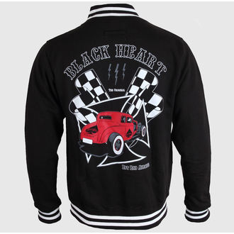 hanorac bărbați - Red Coupe - BLACK HEART, BLACK HEART