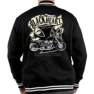 hanorac cu glugă bărbați - Motorcycle K. - BLACK HEART, BLACK HEART