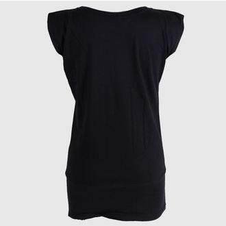 tricou de stradă femei - Rose - BLACK HEART - Rose, BLACK HEART