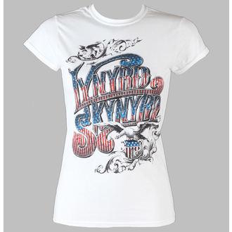 tricou stil metal femei Lynyrd Skynyrd - Usa Flag Logo - LIVE NATION, LIVE NATION, Lynyrd Skynyrd