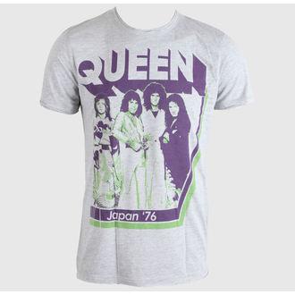 tricou stil metal bărbați Queen - Japan 76 - AMPLIFIED, AMPLIFIED, Queen