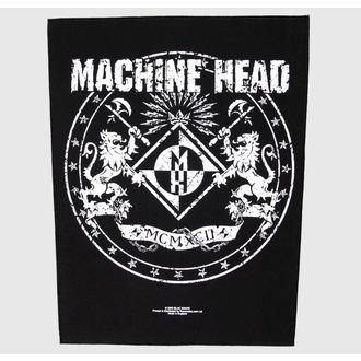 Petic mare Machine Head - Crest - RAZAMATAZ, RAZAMATAZ, Machine Head
