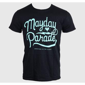 tricou stil metal bărbați Mayday Parade - SCRIPT -BLACK - LIVE NATION, LIVE NATION, Mayday Parade