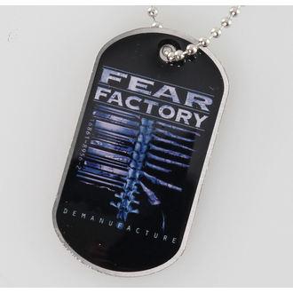 lanț cu plăcuță Frică Fabrică - Demanufacture - RAZAMATAZ, RAZAMATAZ, Fear Factory