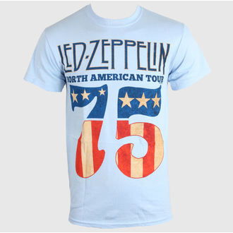 tricou stil metal bărbați Led Zeppelin - US 75 - LIVE NATION, LIVE NATION, Led Zeppelin