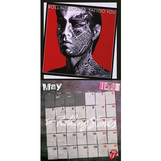 calendar 2015 RULARE PIETRE, Rolling Stones