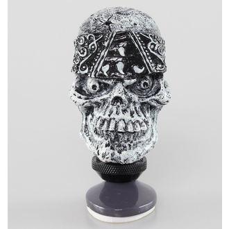 decorațiune (cap angrenaj pârghie) MORTAL AMENINȚARE - Craniu Cap Schimb mâner, LETHAL THREAT