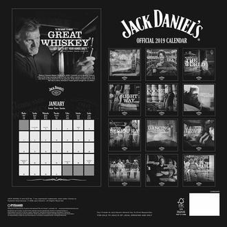 Calendar pentru anul 2019 JACK DANIELS, JACK DANIELS