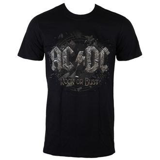 tricou stil metal bărbați AC-DC - Rock Or Bust - LIVE NATION - PE12102TSBPL