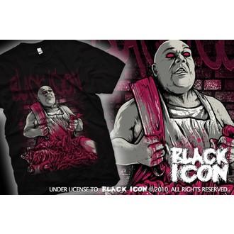 tricou hardcore bărbați - Black - BLACK ICON, BLACK ICON