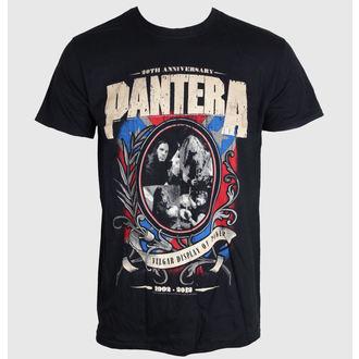 tricou stil metal bărbați Pantera - Anniversary Shield - ROCK OFF, ROCK OFF, Pantera