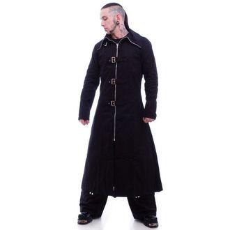 haină a bărbaţilor -primăvară toamnă- NECESAR RĂU - Bandit Deplin Lungime - Negru, NECESSARY EVIL