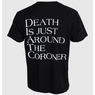 tricou stil metal Coroner - No More Color - MASSACRE RECORDS, MASSACRE RECORDS, Coroner