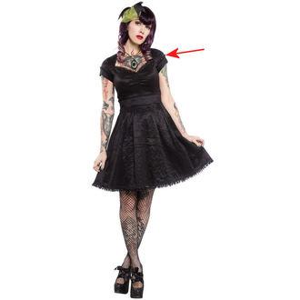 rochie femei sourpuss - Parte Prinţesă - Negru - SPDR118, SOURPUSS