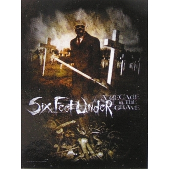 steag Şase picioare Sub - Deceniu În The Mormânt, HEART ROCK, Six Feet Under