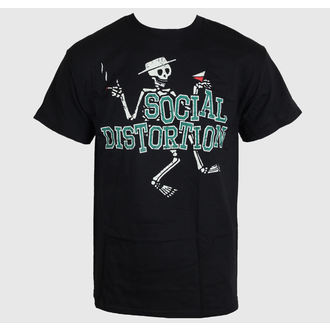 tricou stil metal bărbați Social Distortion - Letterman Skully - BRAVADO, BRAVADO, Social Distortion