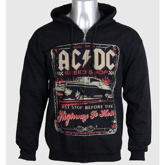 hanorac cu glugă bărbați AC-DC - Speed Shop - LIQUID BLUE, LIQUID BLUE, AC-DC