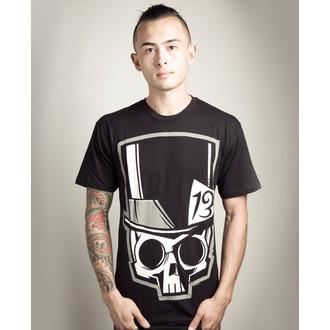 tricou hardcore bărbați - Skull13 - Akumu Ink, Akumu Ink