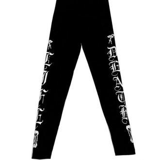 pantaloni femei (colanți) CVLT NAŢIUNE - Doliu Rugăciune - Negru, CVLT NATION