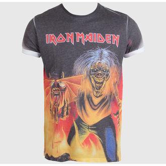 tricou stil metal bărbați Iron Maiden - The Number of the Beast - ROCK OFF, ROCK OFF, Iron Maiden