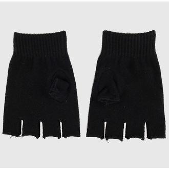 mănuși fără degete Magie - Negru / Roz