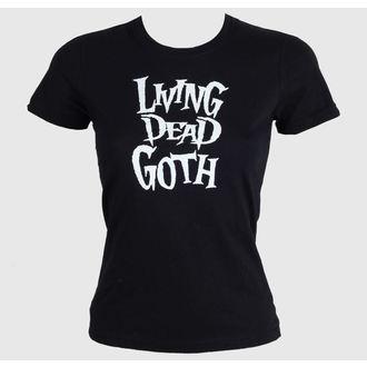 tricou femei - Living Death Goth - BAT ATTACK, BAT ATTACK