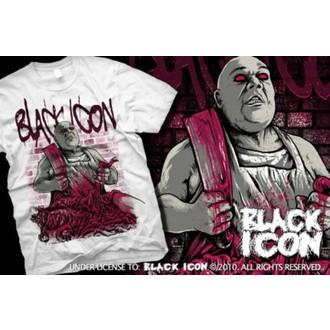 tricou hardcore bărbați - White - BLACK ICON, BLACK ICON