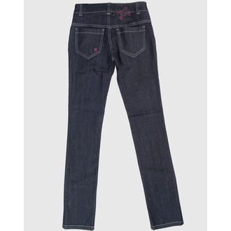 pantaloni femei IAD BUNNY - Albastru, HELL BUNNY
