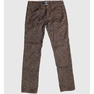 pantaloni femei COL LECTIF - Leopard
