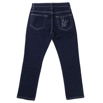 pantaloni 3/4 femei COL LECTIF - Albastru