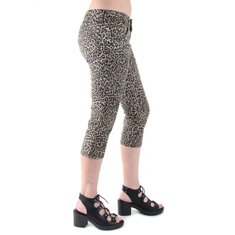 pantaloni 3/4 femei 3RDAND56th - Leopard, 3RDAND56th