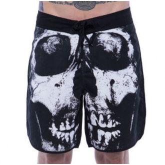costume de baie bărbați (pantaloni scurti) IRON FIST - afânat Dinte - Negru, IRON FIST