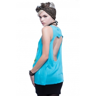 top femei IRON FIST - Stea traversată - Albastru, IRON FIST